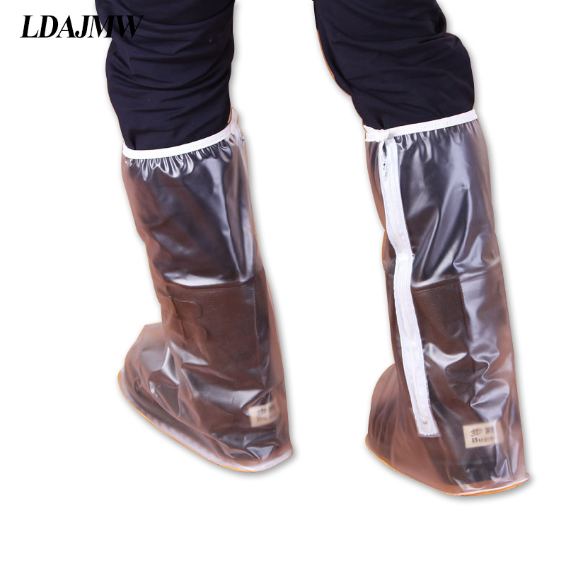 LDAJMW New Shoe Cover Waterproof Non-slip Rain For Motorcycle Riding Cycling On Rainy Day Outdoor Travel Necessary Reusable