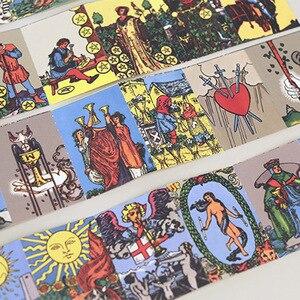 Image 3 - (48 pcs/1set),Cute Stationery Kawaii Tarot paper scrapbooking stickers gift sealing paste filofat/decoration lable