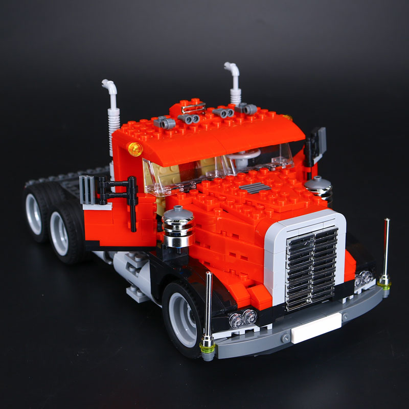 Lepin 24023 Creative Changing Series The Three in One Truck Set Children Educational Building Blocks Bricks Toys Model Gift 495 black pearl building blocks kaizi ky87010 pirates of the caribbean ship self locking bricks assembling toys 1184pcs set gift