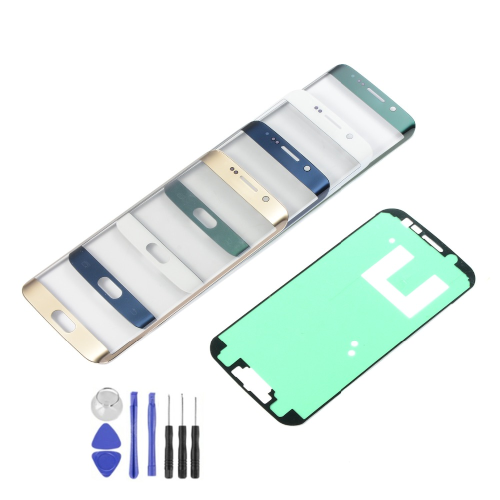 Touch Screen For Samsung Galaxy S6 Edge G925 G925F LCD Display Touch Screen Panel Sensor Digitizer Glass With Adhesive+Tools