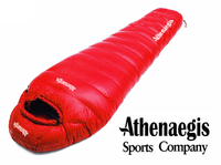 Athenaegis 3000G white goose down filling can be spliced mummy ultra light goose down sleeping bag