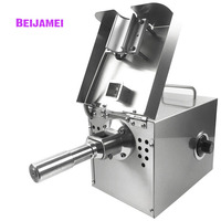 BEIJAMEI 220V/110V Automatic Oil Press Machine Stainless Steel Screw Press Oil Machine Coconut Oil Extractor Home