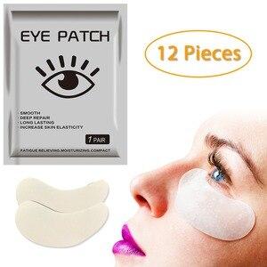 Image 3 - 12 adet = 6 çanta jel göz bantları göz güzellik bakımı Anti Aging göz bandı beyazlatmak koyu halkalar hidro jel kırışıklık karşıtı
