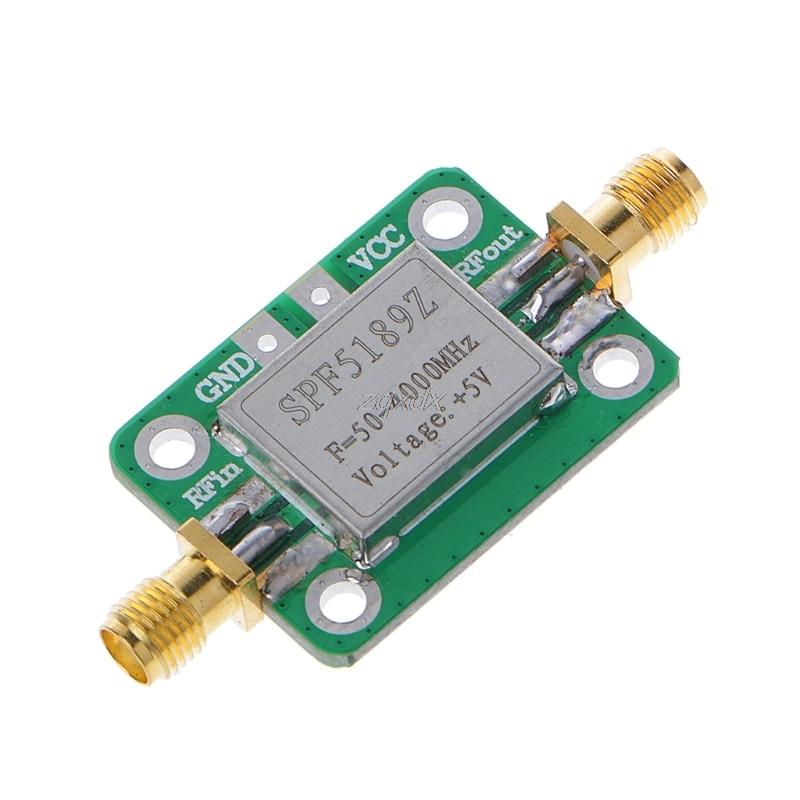 купить LNA 50-4000MHz SPF5189 RF Amplifier Signal Receiver For FM HF VHF / UHF Z07 Drop ship по цене 554.86 рублей