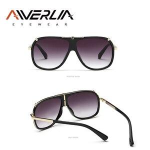Image 4 - AIVERLIA Sunglass erkek eski erkek güneş gözlüğü marka tasarımcısı Sunglass erkek UV400 degrade Lens óculos Masculino Gafas AI41