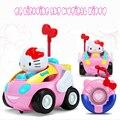 RC car toys Hello Kitty игрушки juguetes Аниме коробка фигурку Музыкальные детские детские игрушки Симпатичные Рождественский подарок brinquedos