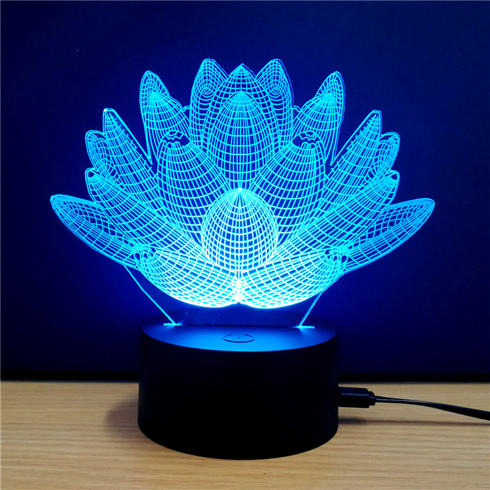 Led Lamps New 2017 Abstract Beast Fingers 3d Led Usb Rc Lamp Tree Branch Fashion Design 7 Colors Changing Night Light Home Decoration Gift Led Night Lights