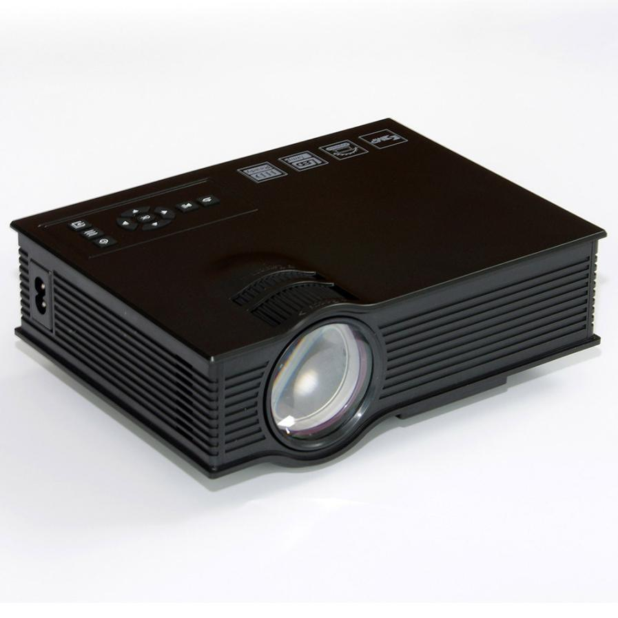 1080p Hd Mini Projector Led Home Cinema Theater Multimedia: HIPERDERL Smart Home UC40+ HD 1080P Home Cinema Mini