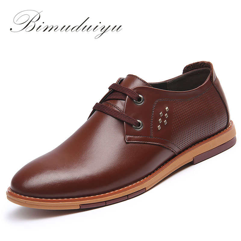 BIMUDUIYU Spring Autumn Men's Basic Business Casual Driving Shoes Minimalist Style Solid Simple Comfortable Breathable Male Flat bimuduiyu new england style men s carrefour flat casual shoes minimalist breathable soft leisure men lazy drivng walking loafer