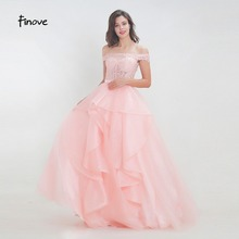 Finove Prom Dress Long 2019 In Women' Elegant A Line Tiered