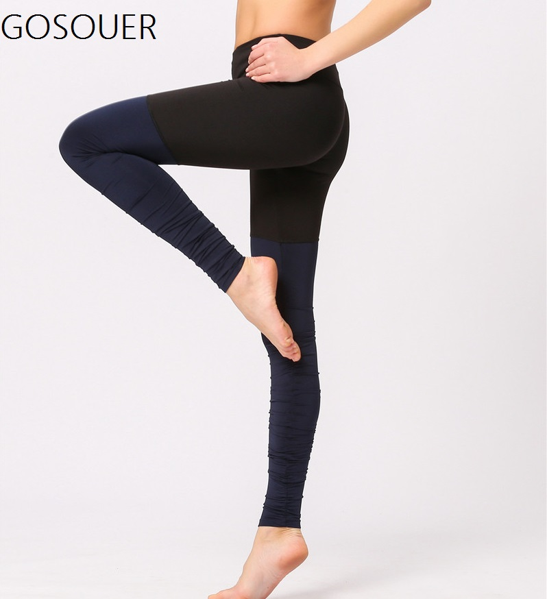 Women's High Waisted Yoga Leggings Extra Long Length Yoga Leggings Barre Leggings Cover Heel Tall Length цена 2017