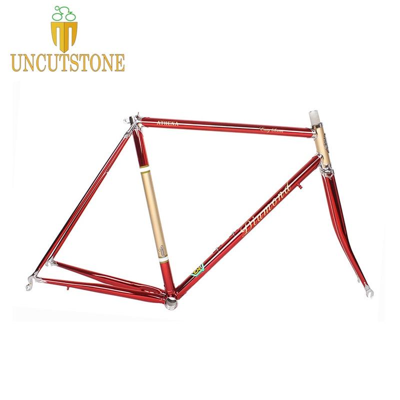 Road Bicycle Frame 4130 Chrome Molybdenum Frame  49 Cm 50 Cm 52 Cm 54 Cm 58cm Road Bike Frame Customized Color