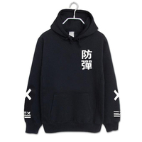 KPOP BTS Sweatshirt With A Hood Fleece Hoodies Should Aid The Lovers Loose Sweat Shirt K
