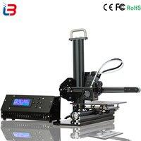 Good Quality Mini DIY 3D Printer Desktop Portable For Beginner Build Size 150 150 150mm CE