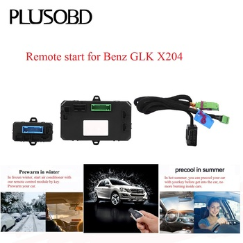 Remote Control Car Engine Start/Turn Off To Warm Up Car In Winter And Precooling In Summer For Mercedes Benz GLK X204 image
