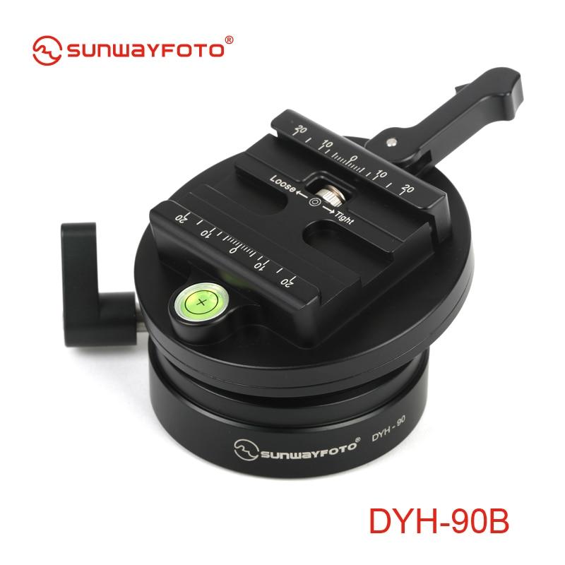 SUNWAYFOTO DYH-90B DSLR fotoaparato lygio trikojis Tripodinis - Fotoaparatas ir nuotrauka - Nuotrauka 4