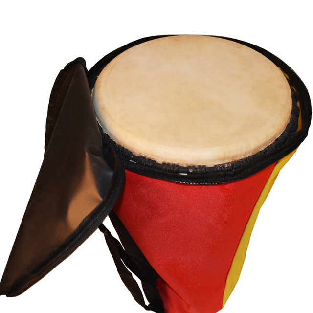 Wholesale 8 10 12 13 inches waterproof 4 colors stitching  Djembe drum package soft gig thin bag case tambourine cover backpack