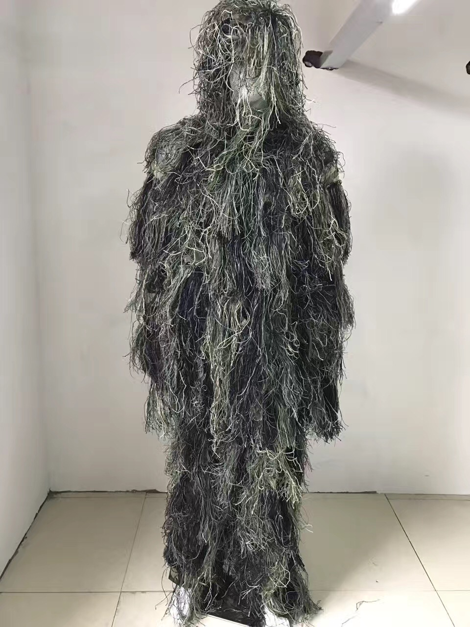 Ghillie Suit CS Camouflage Suits Set 3D Bionic Leaf Hunting Disguise Uniform Sniper Jungle Military Train Hunting Cloth Woodland 3d leaf camouflage tactical military airsoft paintball hunting camo bionic disguise sniper archery ghillie suit disguise uniform
