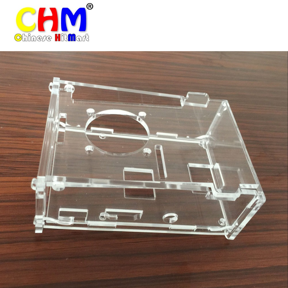 Transparent Shell Cover Case For Raspberry Pi 2/3 Generation Model B Acrylic Case #bp1610007