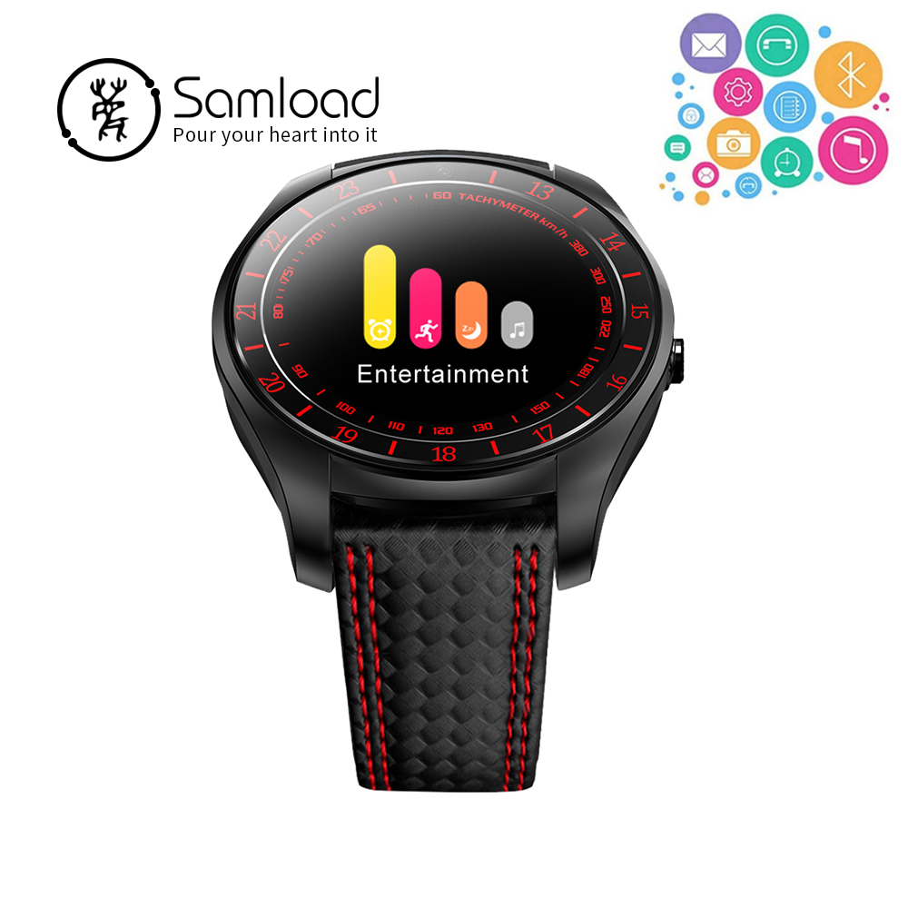 Samload Intelligente Orologi Bluetooth di Modo V10 Banda di Fitness Tracker Monitoraggio della Frequenza Cardiaca Per Il Telefono Android Xiaomi Samsung Sim Card