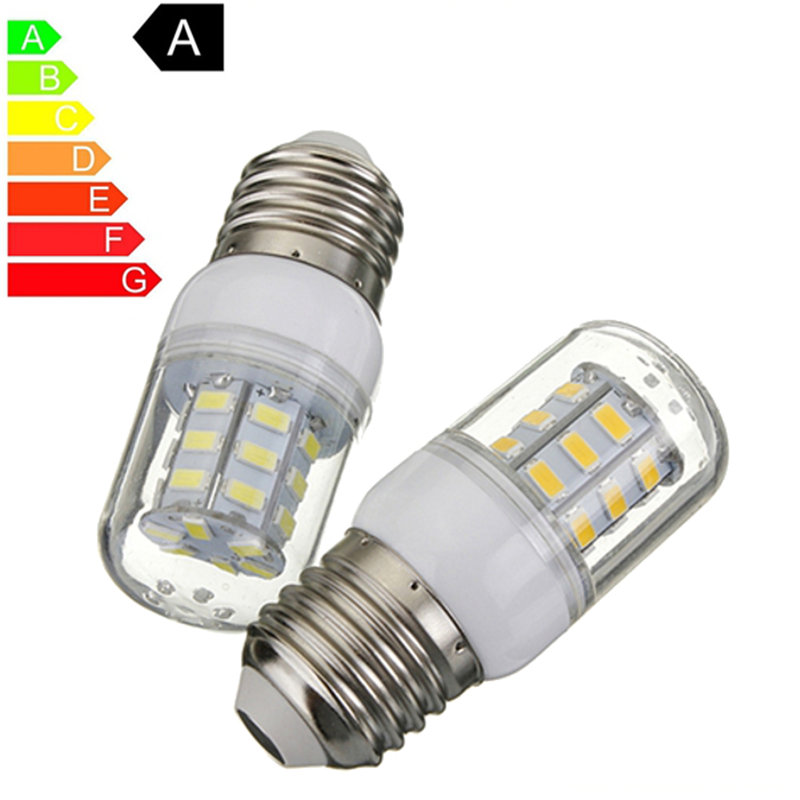 E27 27 LED Light Bulb 5730 SMD Super Bright Energy Saving Lamp Corn Lights Spotlight Bulb White Warm White Lighting DC12V 680lm mr16 7w cob warm white led spot bulb energy saving light 85 265v