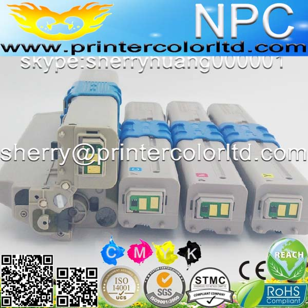 C301) Color toner laser cartridge For OKI 44973536 44973535 C301 C301DN C321 C321DN (2.2k/1.5k pages)