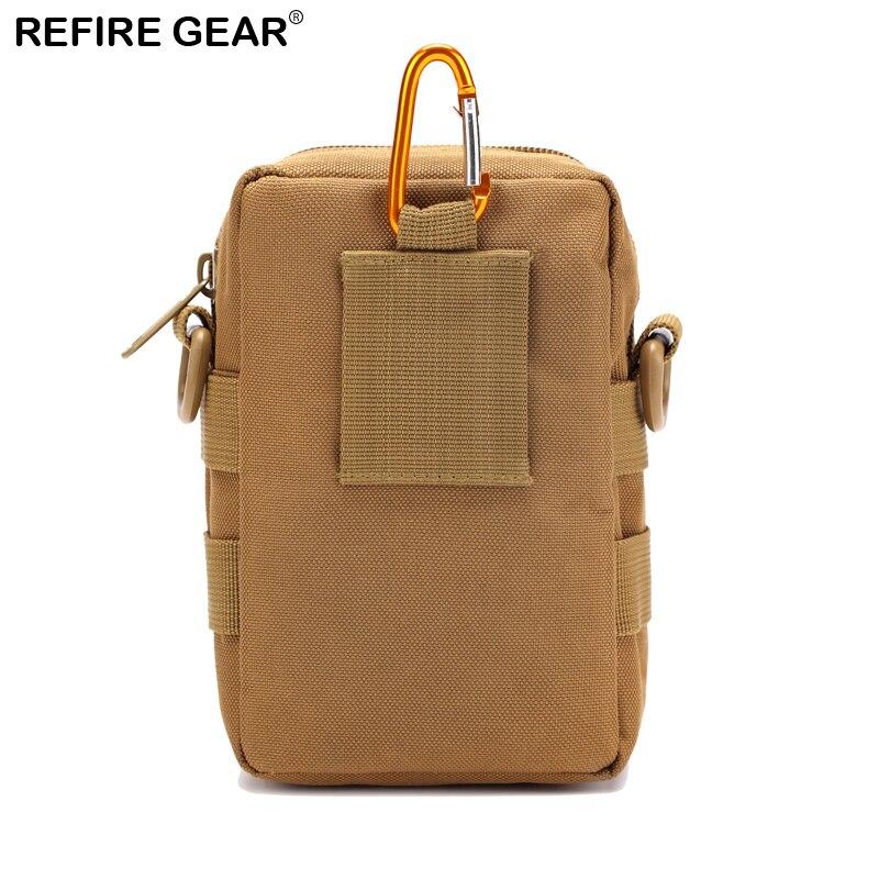 Refire Gear New Camouflage Outdoor Waist Pack Men Hiking Climbing Waist Bags Leisure Waterproof Lightweight Shoulder Bag
