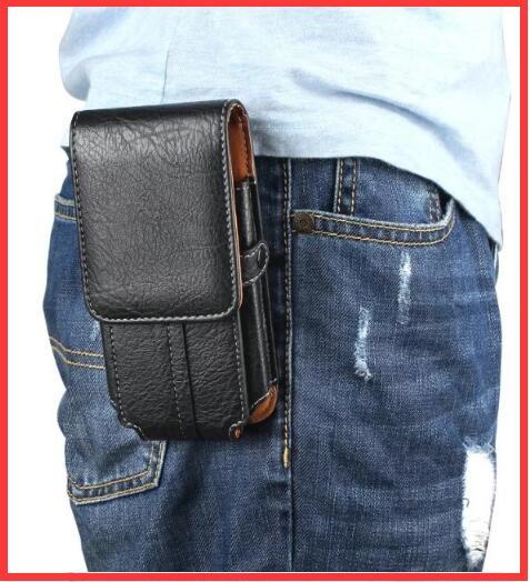 imágenes para Bolsa de cinturón clip holster case cubierta de la bolsa hombre paquete de la cintura para z17 zte nubia mini/vernee apollo x/vivo x9i/samsung galaxy s8 más