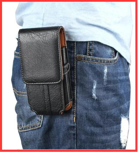 bilder für Gürtel clip tasche holster case abdeckung bag herren hüfttasche für zte nubia z17 mini/vernee apollo x/vivo x9i/samsung galaxy s8 plus