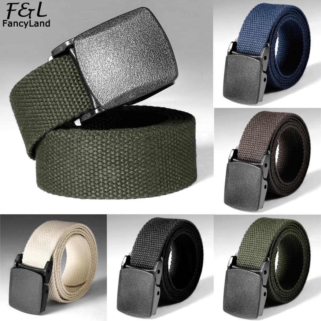 Waist Tactical Adjustable Outdoor   Belt   Military Nylon   Belt   Men Army Style   Belt   Automatic Buckle Cummerbunds para homb Waist   Belt