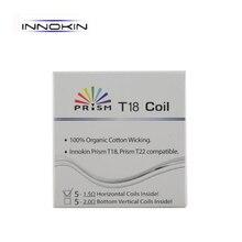 50 шт. innokin Endura T18 катушки 1.5ohm Призма T18 замена катушки для Призма T18 endura T22 бак