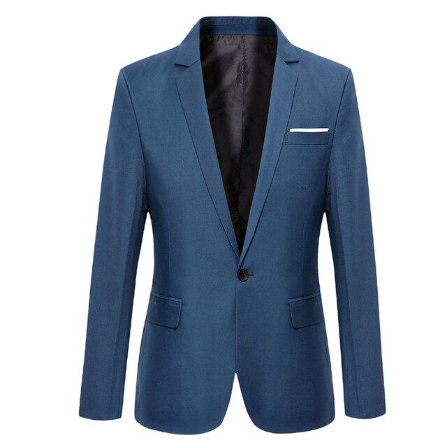 size 40 2f2e6 0bc22 US $22.79 5% di SCONTO 2017 Nuovi uomini della molla Giacca Sportiva  casuale abito da uomo Giacca uomo slim fit giacca classica per il maschio  in 2017 ...