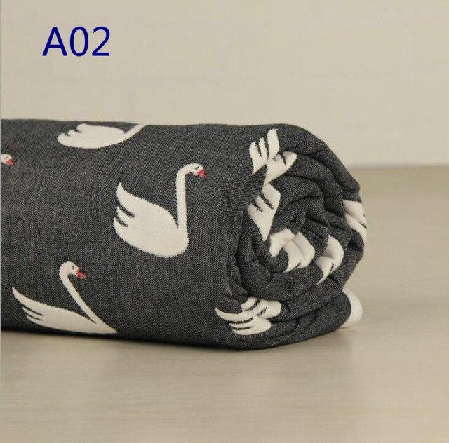 110x110 см Multifuction Swadding Одеяло 6 Слоя Хлопка Детские Wrap Дышащий Bebe Младенческой Одеяло Новорожденный Ребенок Towl