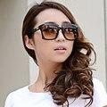 2015 Mujeres de La Moda Gran Diseñador de la Marca de Gran Tamaño gafas de Sol Redondas de La Vendimia Gafas de Sol Gafas Mujeres