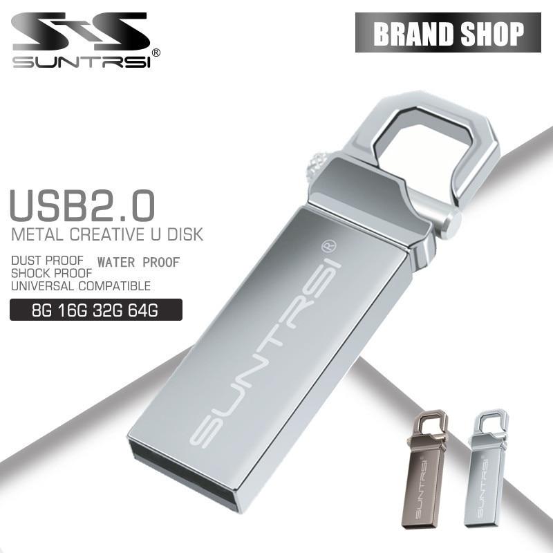 Prix pour Suntrsi usb 2.0 pen drive 64 gb 32 gb 16 gb 8g 4g usb Flash Drive Memoria usb bâton Pendrive usb flash drive personnalisée imprimer logo