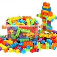 WYNLZQ Interconnecting Plastic Blocks Kindergarten Children Teaching Bricks Educational Building Toys 200Pcs/Lot Or 400Pcs/Lot