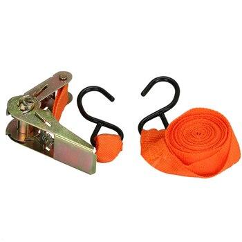 2.5 cm x 36 cm Araba çekme halatlar gerginlik cırcırlı gerdirme Kayış Römork Ambalaj valiz kayışı ile bağlı sabit kargo tekrar halat