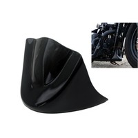 Gloss Black Motorcycle Lower Front Chin Spoiler Air Dam Fairing Cover For Harley 06 Up Dyna
