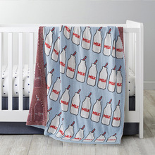 Cotton Baby Blanket Newborn Props Accessories Handmade Knitted Blankets Swaddle Wrap Chic Kids Blanket for Baby Bedding 110x90cm