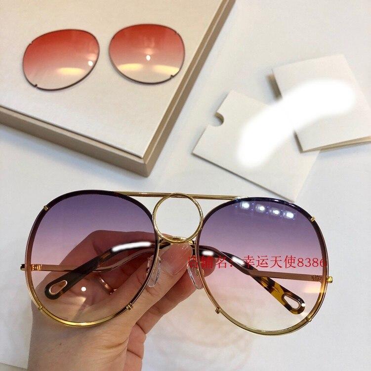Y0107 Frauen 2 Carter Luxus 4 Für 3 Runway 1 Sonnenbrille 2019 Designer Marke Gläser wpvzTdqg