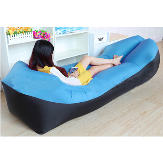 Hot Camping Outdoor Products Fast Infaltable Air Sofa Bed Good Quality Sleeping Bag Inflatable