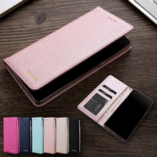 CMAI2 For Samsung Galaxy S9 Plus Case Leather Silk Magnetic