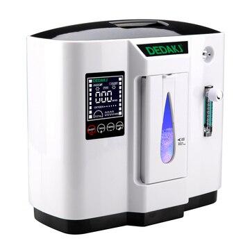 Sauerstoffgenerator Tragbar   DDT-1A Tragbare Medizinische 6L Sauerstoff Konzentrator Generator Sauerstoff, Der Maschine Oxygenation Maschine Luftreiniger 110 V/220 V 1 Pc