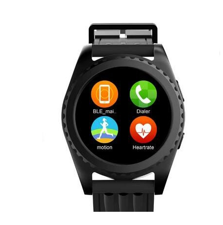 New Smart watch GS3 font b Smartwatch b font Heart rate monitor relogio Clock Fitness Tracker