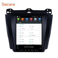 Seicane for 2003 2004 2005 2006 2007 Honda Accord 7 Android 6.0 9.7 inch Car GPS Navigation Radio Unit Player Mirror Link 1080P