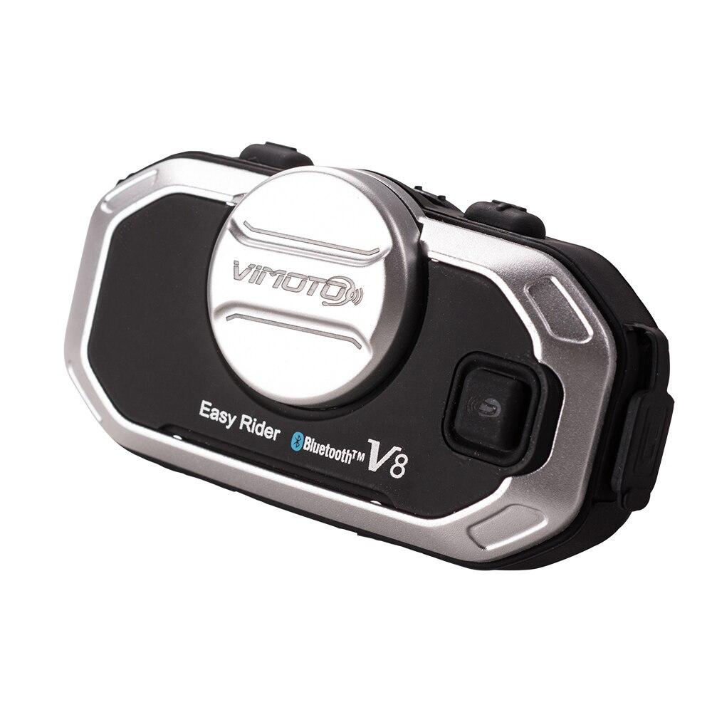 Мотоциклетный шлем домофон гарнитура всадники V8 BT Bluetooth шлем гарнитура Беспроводные мотоциклетные гарнитуры громкой связи