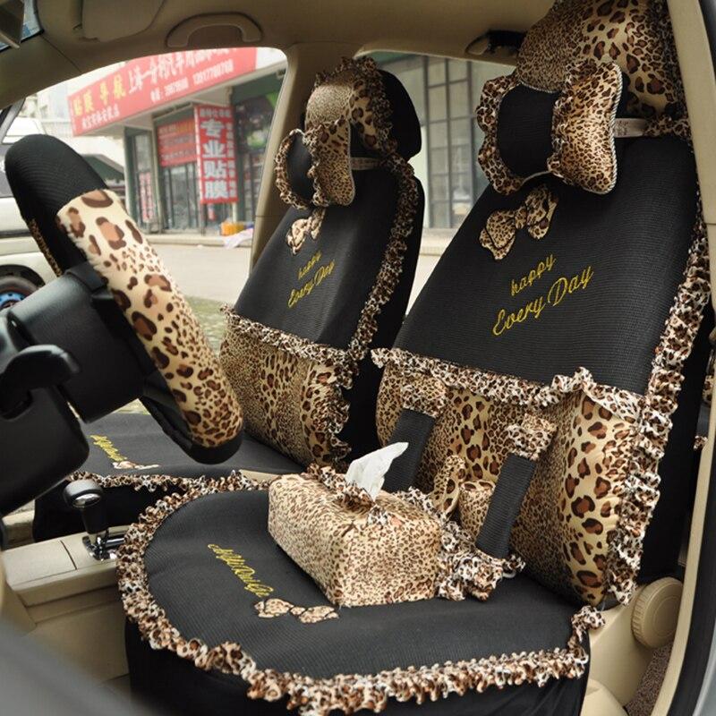 Regal 2013 Car Seat Covers Bow Viscose Summer Cartoon Car