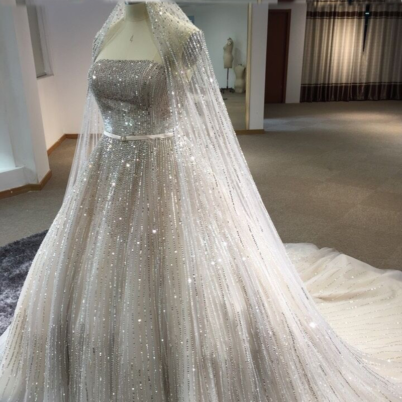Crystal wedding dresses images for Ivory and silver wedding dress