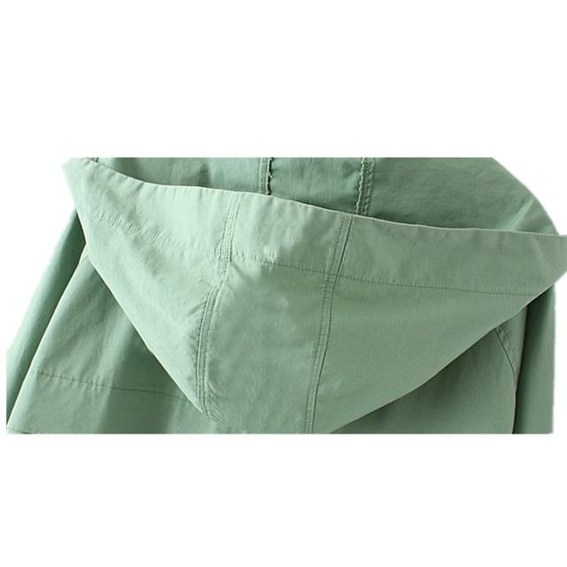 2018 Oversize Women Windbreaker Jacket 5
