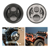Car / Motos Accessories 7 headlight motorcycle 7 inch led headlamp for Harley Jeeep Wrangler Hummer Projector Daymaker